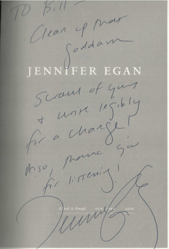 Jennifer Egan The Keep