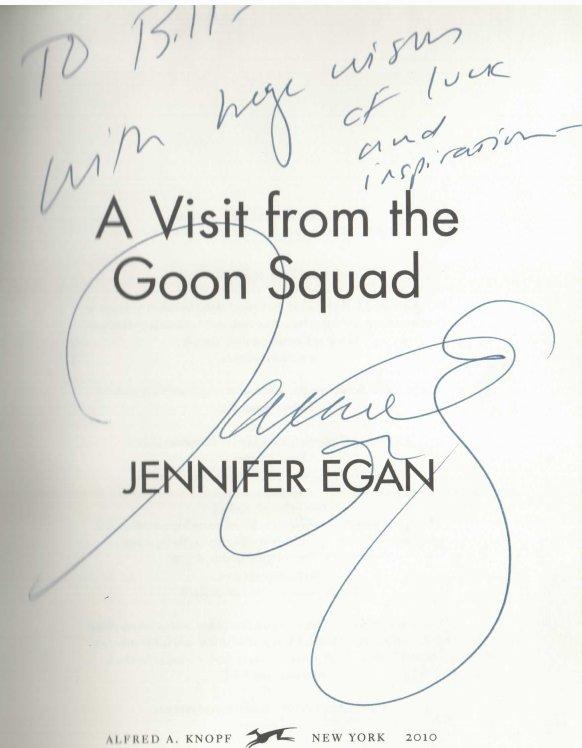 Jennifer Egan Goon Squad