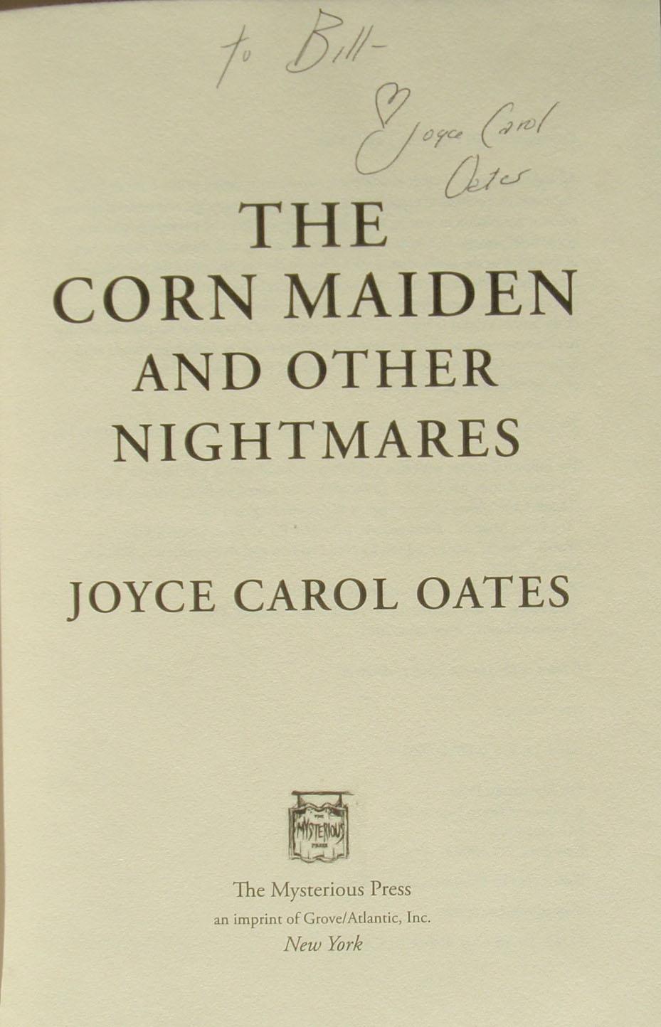 Joyce Carol Oates insult
