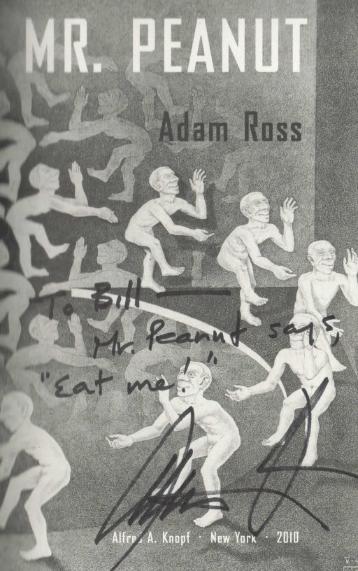 Adam Ross Mr Peanut