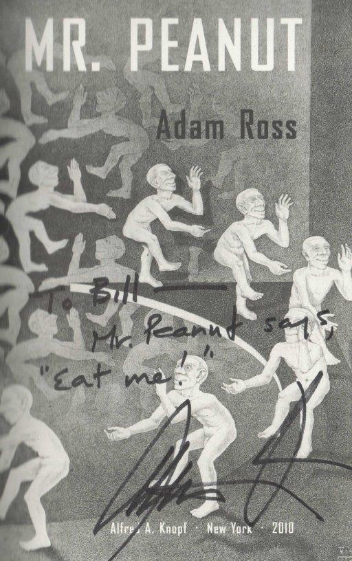 Adam Ross Mr Peanut